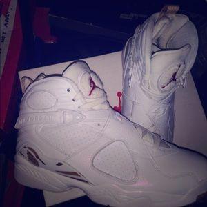 "Air Jordan 8 ""OVO"" sz 10"